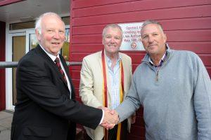 Fordhouses cricket club opening Ian Botham