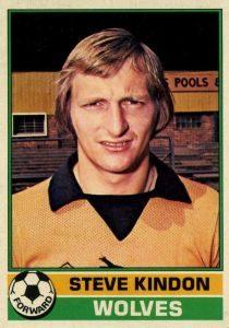 Wolves Legend Steve Kindon Fordhouses CC