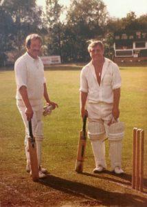 Peter Jones & Brian Ticker James Fordhouses Cricket Club