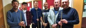 Fordhouses CC Snooker team